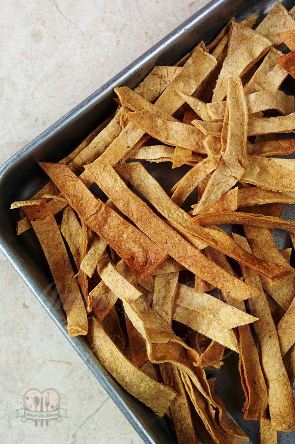 El Blog de Amor en Berza: Cómo hacer totopos sin aceite / totopos horneados