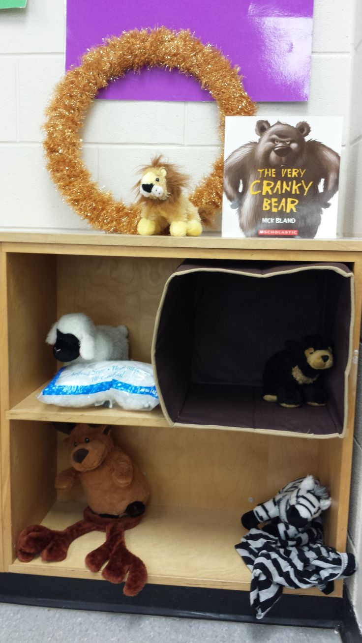 The Very Cranky Bear retell. FDK language expectation 2.9
