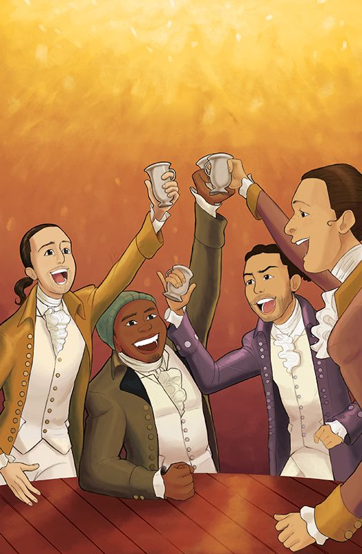 The 46 Songs From The 'Hamilton' Soundtrack Are Now Illustrated