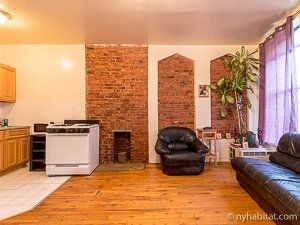 Brick Walled Apartments In #Brooklyn. Http://www.nyhabitat. New York ...