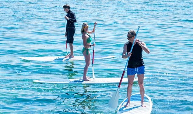 38 Degrees North Ibiza SUP Pilates & SUP Yoga
