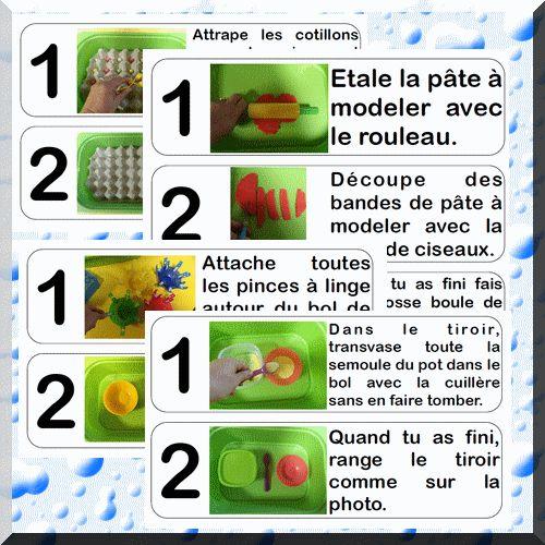 Mes ateliers d'inspiration Montessori pour la 2e période - Chez lulu - Des ressources pour l'école