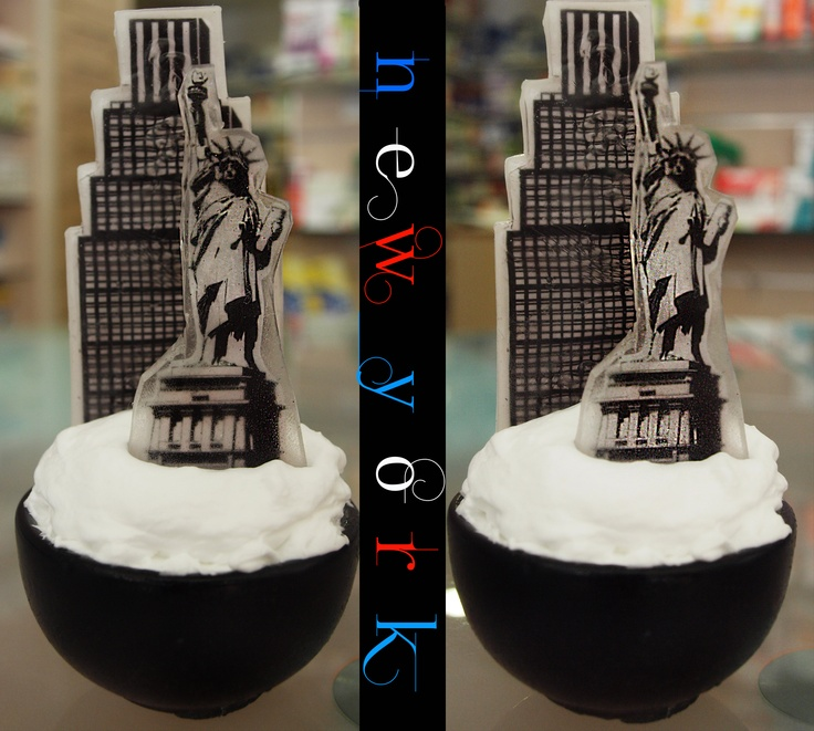SOAP CITIES-NEW YORK  TOTALLY MADE OF SOAP