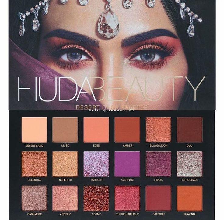 Huda Beauty Desert Dusk palette