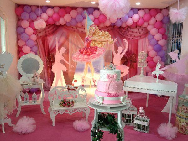 Barbie Sapatilhas Mágicas - Muita Festa Decorações