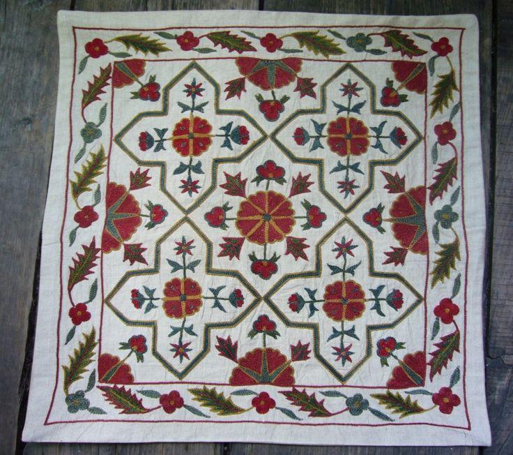 Ottoman Imports | Turkish Delights :: Suzani Silk Embroidered on silk or cotton