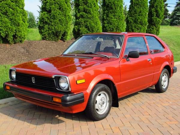 1980 Honda Civic 1500DX 5-Speed