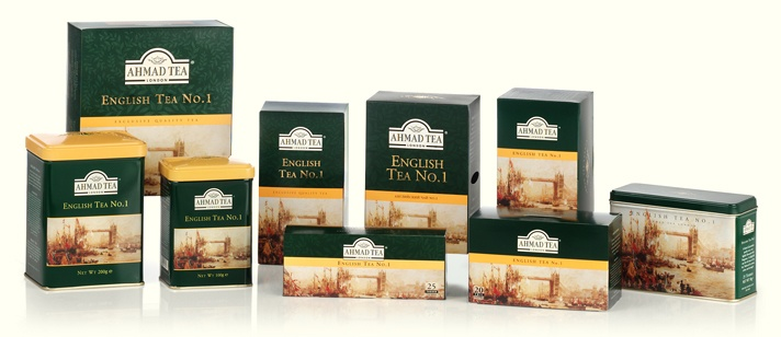Ahmad Tea London - their classic colletion is the best.