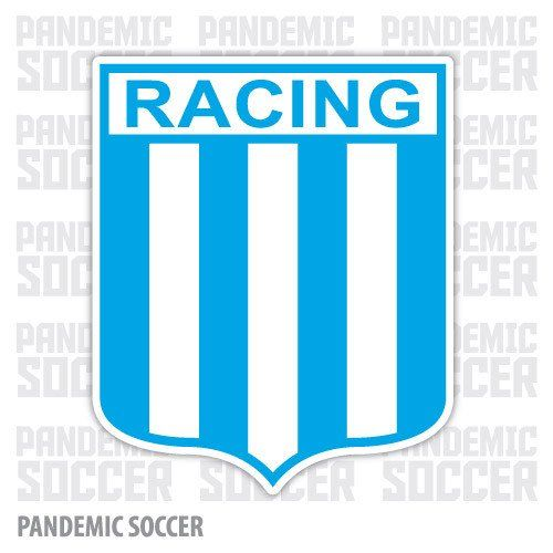 Racing Avellaneda Argentina Vinyl Sticker Decal Calcomania