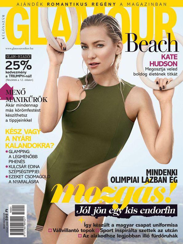 Kate Hudson. Beach 2016 issue. Photo by Jason Kibbler