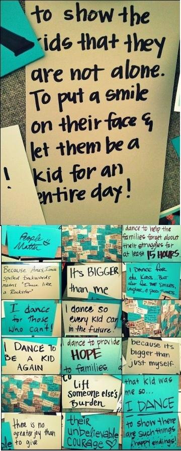 """Iowa State Dance Marathon: """"Why do you dance?"""""""