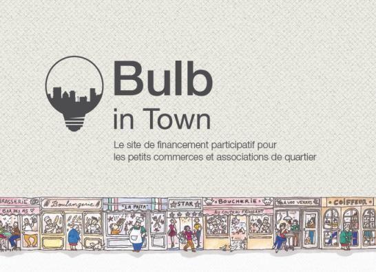 RDV sur Bulb in town pour nous aider dans ce beau projet!