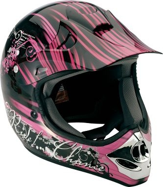 Okay so JB doesn't have a 4 wheeler anymore, but when I GET ONE, this is my helmet.  Just cuz it's got pink.