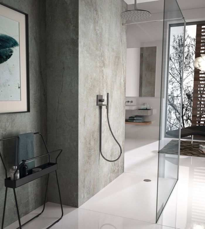 Affordable Countertops Options In 2020 Industrial Style Bathroom Faux Concrete Countertops Bathroom Styling