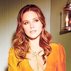 Sophia Bush -Totally love her! Could have something to do with my love for One Tree Hill lol, thanks Netflix!