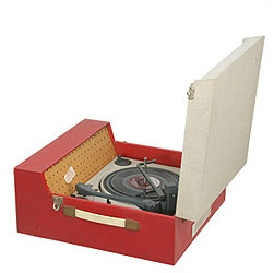 The good old Dansette record player - this was our first record player and with only one record at the time - Wake Up Little Suzy by the Everley Brothers