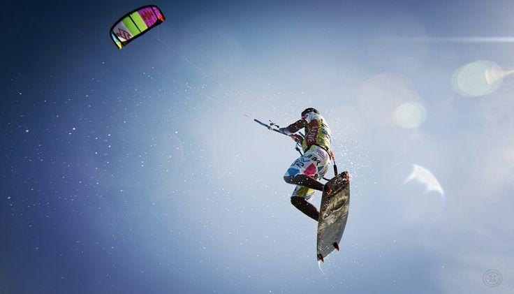 kite (Nasser Lotfy)  kitesurfing, extreme