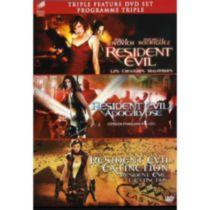 Resident Evil / Resident Evil: Apocalypse / Resident Evil: Extinction (Bilingual)