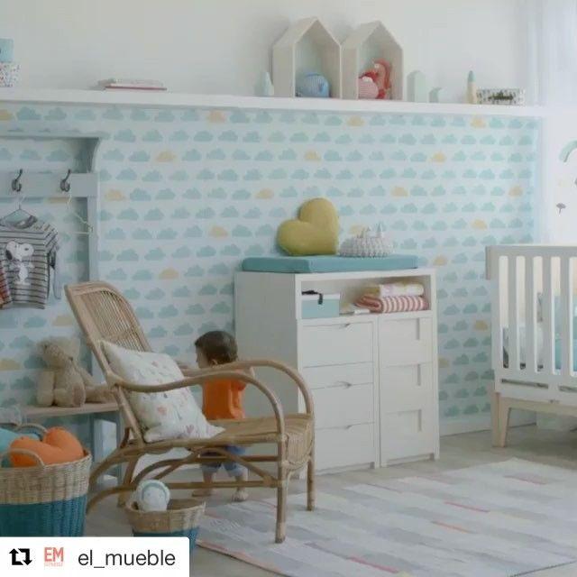 Nos encanta el vídeo de @el_mueble! Qué alegría ver las marcas que representamos Blafre y Littlephant en el vídeo☺️ Super ilusionados!  #estilonordico #estiloescandinavo #blafre #littlephant #kids #niños #cuartoinfantil #marcasnordicas