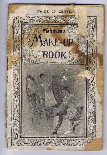 I just bought this!  Weman's Make Up Book 1899 Stage Theater Wigs Beards | eBay