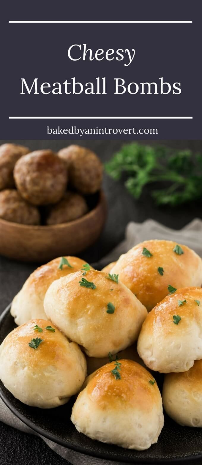 There's nothing more delicious than diving into soft, warm, buttery bread fresh from the oven except when it's stuffed with mozzarella cheese and Carando Abruzzese Meatballs. This recipe is fast and easy because there's no yeast, no kneading, and no waiting for dough to rise. #ad