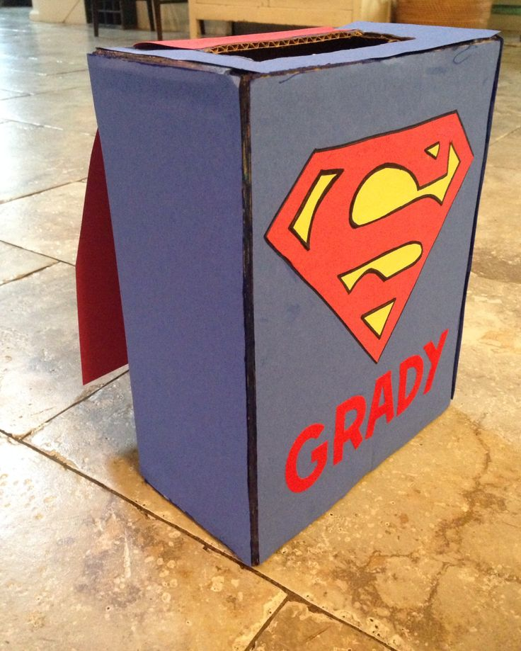 Valentines box with cape :)
