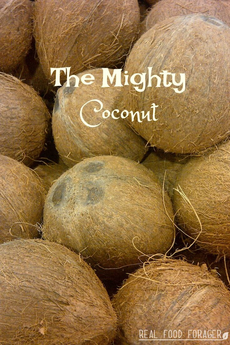 The Mighty Coconut. The amazing health benefits of coconut and how to pick the best coconut oil.