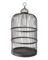 Cage noire en fer modèle Valériane de Secret Story 7 #SS7