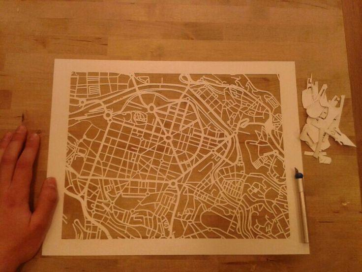 Mapa callejero de Bilbao