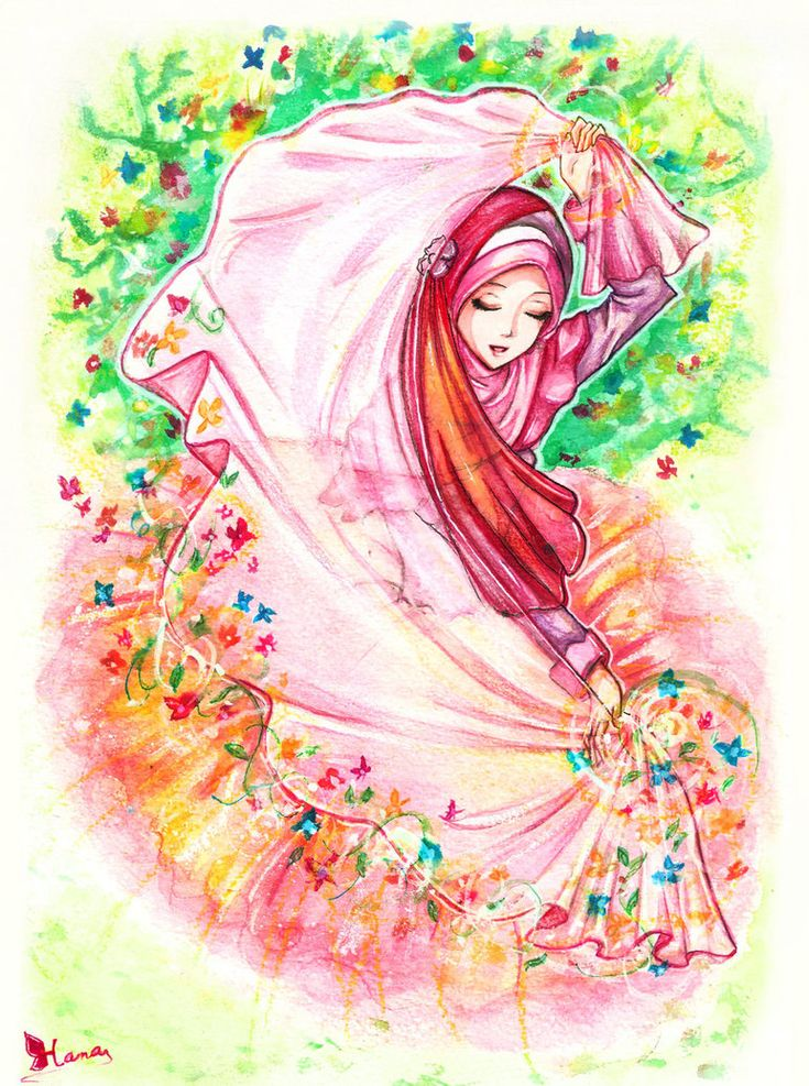 #spring #muslimah