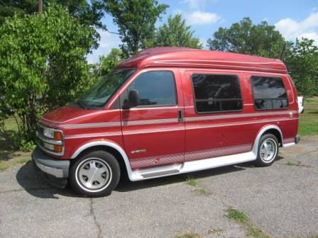 16 Best Chevy 1998 Mark III Conversion Van 1500 Express Images