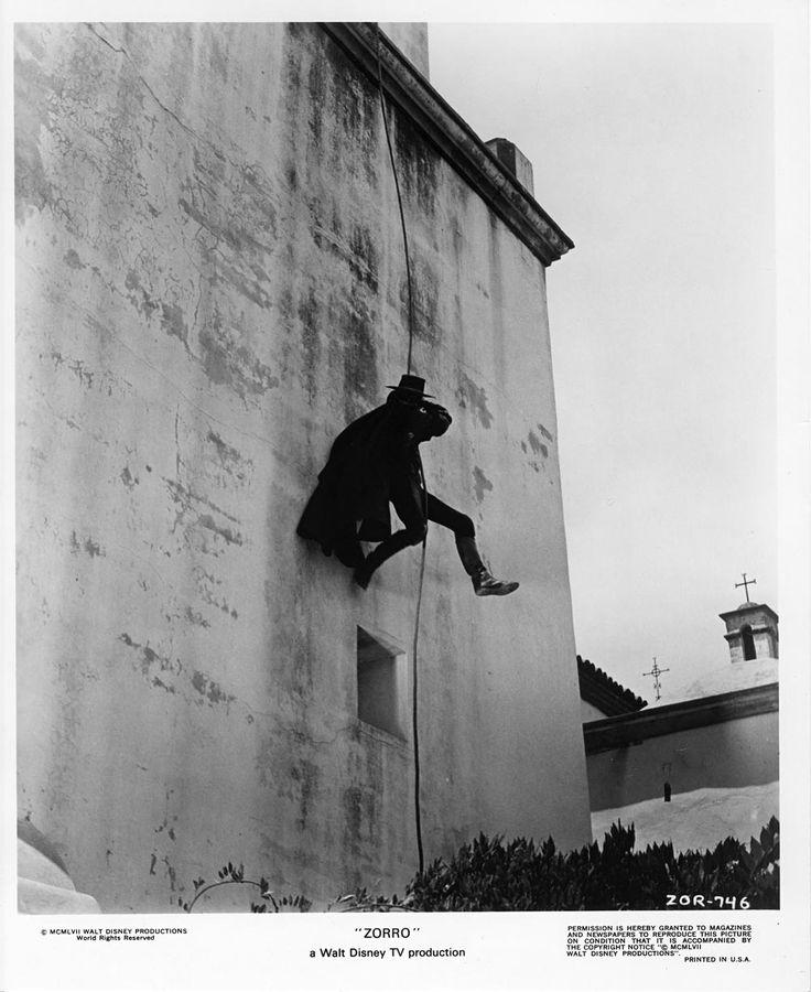 Guy Williams en el Zorro