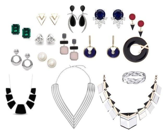 """""""Jewelry for L"""" by natalya-dyukina on Polyvore featuring мода, Kate Spade, Chico's, Topshop, Georgini, Jorge Adeler, Cartier и Karen Kane"""