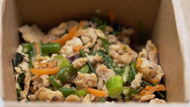 Georgie & Alicia's Pork & Chicken San Choy Bau