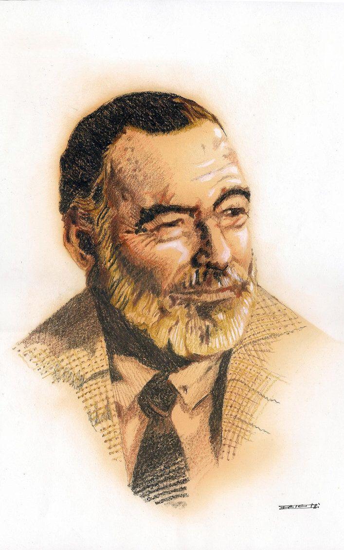 Papa Hemingway by Soloboy5 on @DeviantArt
