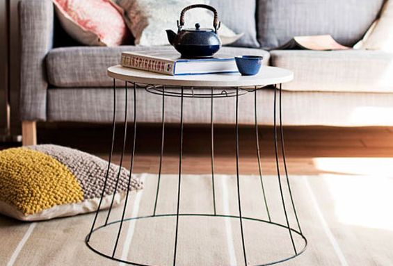 Lampshade Table!!
