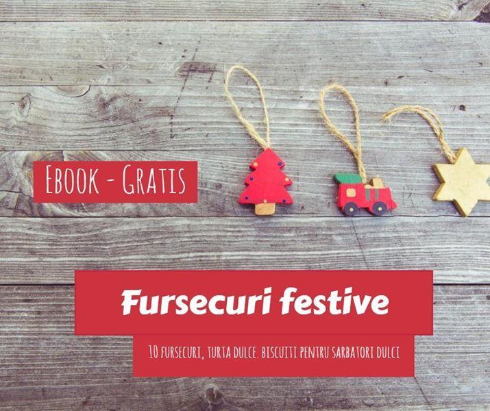 Fursecuri festive (ebook gratis cu retete de fursecuri)