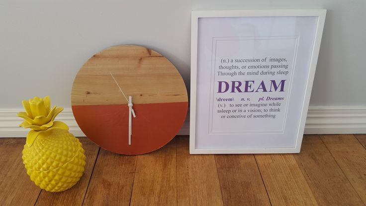 DIY - copper wall clock