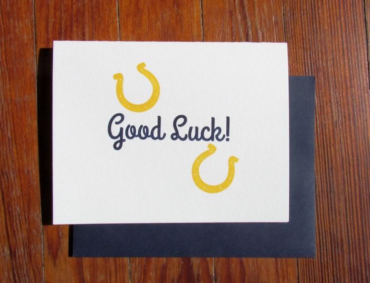 14 best Good Luck images on Pinterest Good luck cards, Card - good luck card template