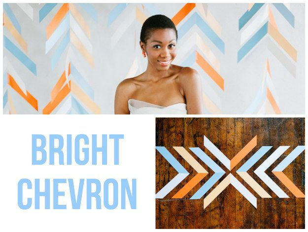 Utilize a popular pattern for bright photos.