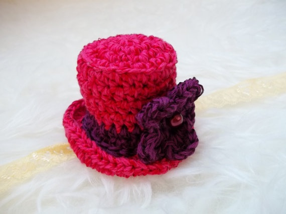 miniature crochet cap  photo props by MonikaTomko on Etsy, €10.00