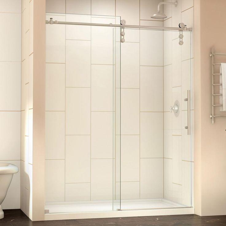 The 25 Best Frameless Sliding Shower Doors Ideas On