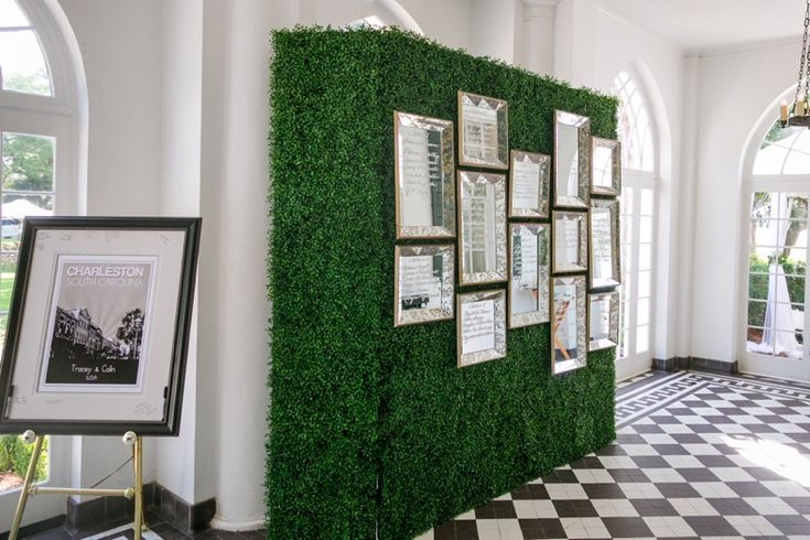 Artificial Deluxe Boxwood Hedge Panel Wedding Crystal
