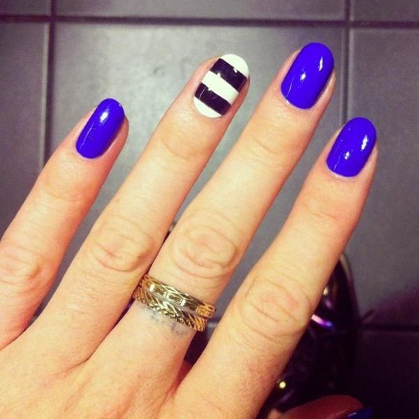 Latest 60 Simple Nail Art Designs for Short Nails