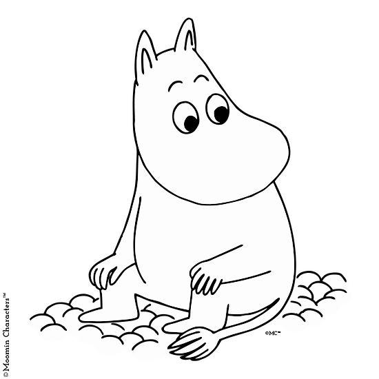 Moomintroll t-shirt - Moomin Characters