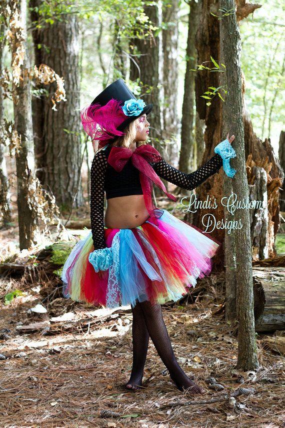 Lunatique Mad Hatter Tutu Costume pour adultes par sweethearttutus