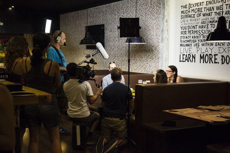 Nuestros clientes protagonistas también del documental de The Black Turtle en Travel Channel USA. ¡Qué majos y extrovertidos! www.theblackturtle.es