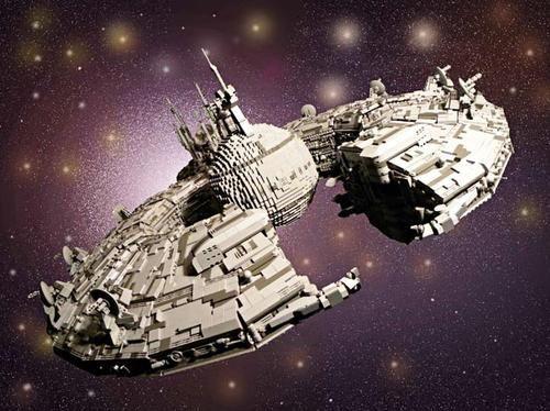 Lego Star Wars spaceship