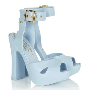 Vivienne Westwood Slave Blue Platform Women's Chunky Heel Sandal