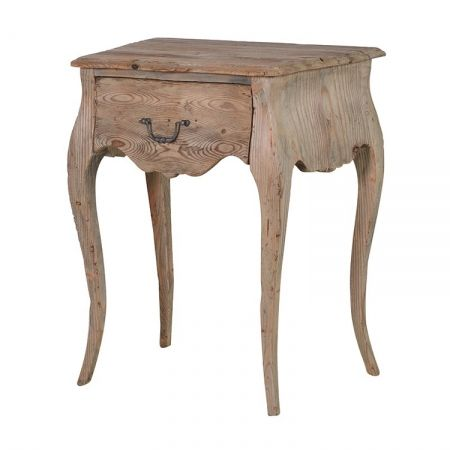 Colonial reclaimed pine bedside table 1 drawer   rustic, vintage bedside table - £150.68 Shop > http://www.exclusiveinteriors.co.uk/bedroom/bedside-tables/colonial-reclaimed-pine-bedside-table